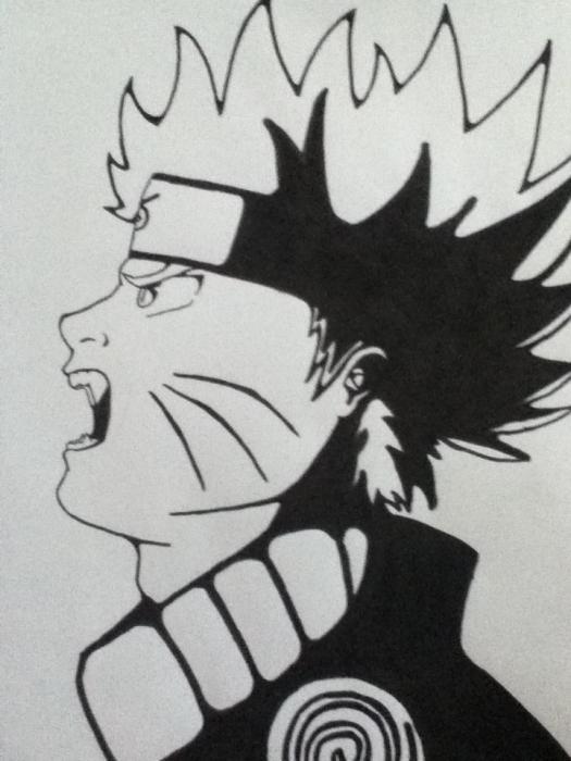 Naruto by Malvinou